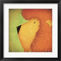 Framed Lion WOW