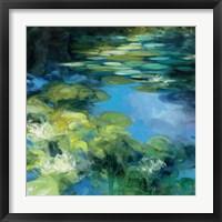 Framed Water Lilies II