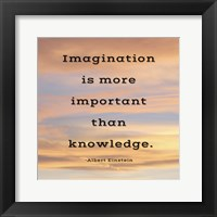 Framed Imagination quote