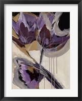 Framed Floral Impressions I
