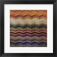 Color & Cadence II Framed Print