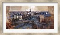 Framed Ciel de Paris