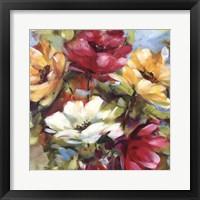 Framed Lily's Garden I