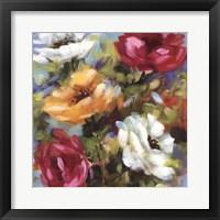 Framed Lily's Garden II