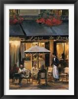La Brasserie II Framed Print