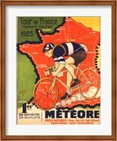 Framed Tour de France 1925