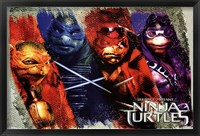 Framed Ninja Turtles - Bars