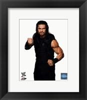 Framed Roman Reigns Wrestler