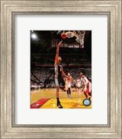 Framed Tim Duncan Game 3 of the 2014 NBA Finals Action