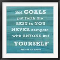 Framed Set Goals square