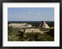 Framed Pyramid of the Magician, Nunnery Quadrangle, Uxmal