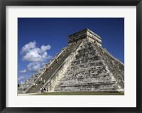 Framed El Castillo Pyramid