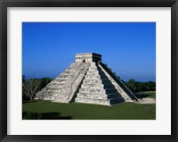 Framed High angle view of a pyramid, El Castillo