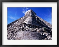 Framed El Castillo Chichen Itza