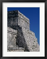 Framed Wall of a building, El Castillo