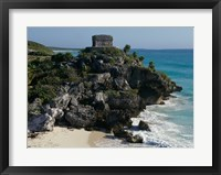 Framed Ruins on a cliff, El Castillo