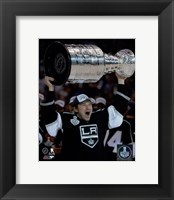 Framed Tyler Toffoli with the Stanley Cup Game 5 of the 2014 Stanley Cup Finals