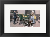 Framed Vintage Dutch Cart