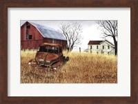 Framed Granddad's Old Truck