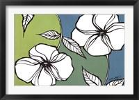 Framed Flowers in Unity - Teal