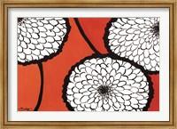 Framed Flowers in Unity - Orange
