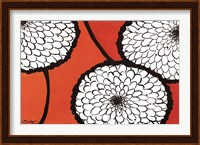 Framed Flowers in Unity - Orange