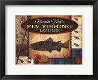 Framed Fly Fishing Lodge