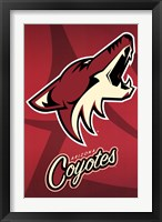 Framed Arizona Coyotes® - Logo 14
