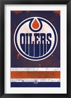 Framed Edmonton Oilers® - Logo 14