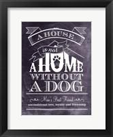 Framed House Is Not Home