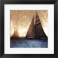 Framed Sail Away I