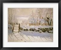 Framed Magpie, 1869
