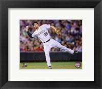 Framed Nolan Arenado Baseball Passing