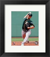 Framed Sonny Gray on field 2014