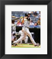 Framed Neil Walker 2014 baseball