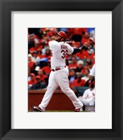 Framed Matt Adams 2014 Batting Action