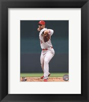 Framed Adam Wainwright 2014 Action