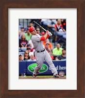 Framed Mike Trout 2014 Batting