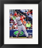 Framed Mike Trout 2014 Batting