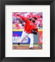 Framed Johnny Cueto 2014 Action