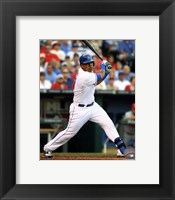 Framed Salvador Perez 2014