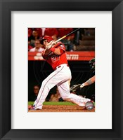 Framed Mike Trout 2014 Baseball Action