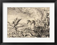 The Greek Gods Mars Framed Print