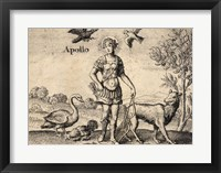 The Greek God Apollo Framed Print