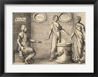 The Greek Gods Vesta Framed Print