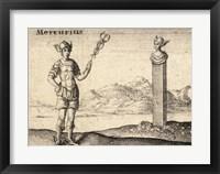 Framed Greek God Mercury