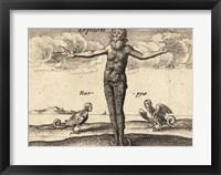 Framed Greek Gods Tryphon