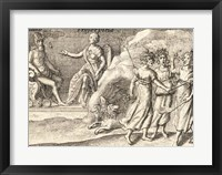 Framed Greek Gods Pluto