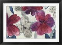 Framed Cartagena Floral