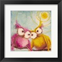 Framed Hoo Loves You